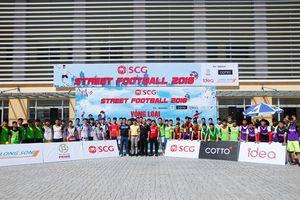Hào hứng giải Bóng đá đường phố SCG 2018