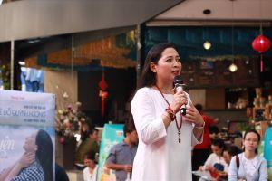 MC Quỳnh Hương: 'Có buông mới chạm được yên'