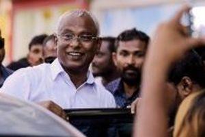 Ứng viên đảng đối lập đắc cử tổng thống Maldives