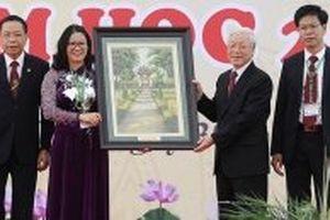 Tổng Bí thư Nguyễn Phú Trọng dự Lễ khai giảng Học viện Nông nghiệp Việt Nam