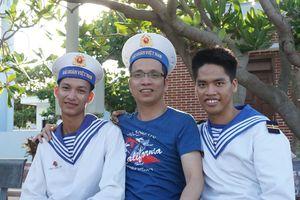 Viết tri ân các chiến sĩ bảo vệ biên cương, hải đảo