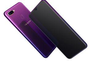 Oppo F9 có thêm phiên bản màu tím