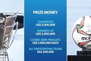 Đội tuyển vô địch Asian Cup 2019 nhận được bao nhiêu tiền thưởng?