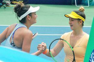 'Bông hồng lai' Alize Lim lên ngôi hậu quần vợt Việt Nam