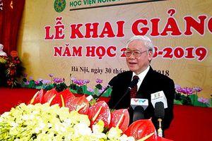 Học viện Nông nghiệp Việt Nam cần đổi mới phù hợp với Cách mạng công nghiệp 4.0