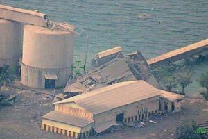 Hình ảnh tàn phá khủng khiếp sau động đất, sóng thần Indonesia nhìn từ trên cao