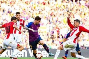 Messi dự bị đầu trận, Barca lộ nguyên hình 'nhà vua' bạc nhược