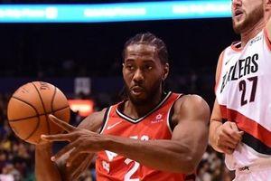 Kawhi Leonard ra mắt ấn tượng, Toronto Raptors 'hạ đẹp' Portland Trail Blazers