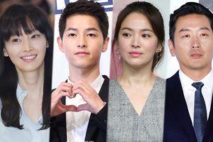 Bỏ phiếu trên báo Hàn (29/09): Vợ chồng Song Joong Ki - Song Hye Kyo cạnh tranh với Ha Jung Woo và Lee Na Young