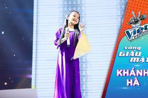 Nguyễn Khánh Hà: 'Nàng thơ xứ Huế mini' chinh phục cả 6 HLV bằng giọng hát 'như rót mật'