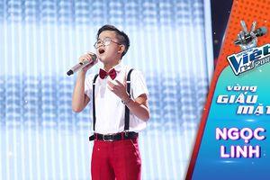 Cậu bé 'hát đám cưới' Đoàn Ngọc Linh gây xúc động với ca khúc 'Muốn khóc thật to' trên sân khấu The Voice Kids 2018