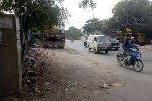Hà Nội: Đường 70 đã sạch rác, phế thải