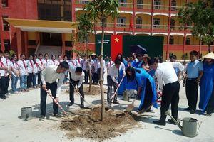 'Toyota chung tay xanh hóa học đường' tại Thanh Hóa