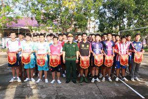 Sóc Trăng: Gần 200 vận động viên, cổ động viên tham gia giải bóng chuyền 