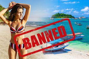 Bali đề xuất cấm du khách mặc bikini