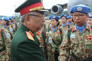 Lực lượng gìn giữ hòa bình Việt Nam lên đường sang Nam Sudan