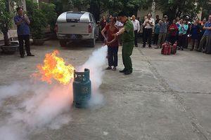 Hướng dẫn người dân biết cách phòng ngừa cháy nổ