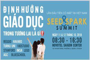 Nhiều chuyên gia giáo dục quốc tế tham dự hội thảo Seed & Spark Summit 2018