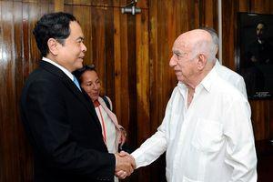 BẢN TIN MẶT TRẬN: Tiếp tục phát triển quan hệ hữu nghị truyền thống và hợp tác toàn diện Việt Nam - Cuba