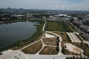 Công viên Thanh niên 50 tỷ ở Đà Nẵng nhìn từ flycam