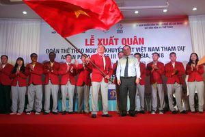 Asian Para Games 2018: Đoàn Việt Nam quyết tâm giành thành tích cao