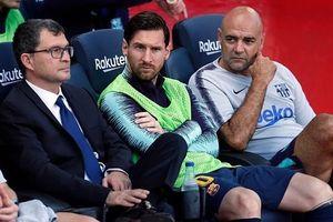 Valverde 'đùa với lửa' khi cho Messi nghỉ