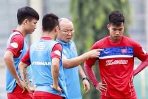 Đội tuyển Việt Nam buộc phải hủy kế hoạch đá giao hữu trước thềm AFF Cup 2018