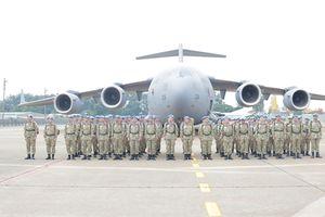 63 chiến sĩ Việt Nam lên đường làm nhiệm vụ quốc tế