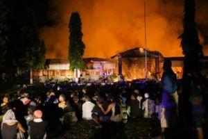 Indonesia: 1.200 tù nhân nổi loạn, ồ ạt vượt ngục sau sóng thần