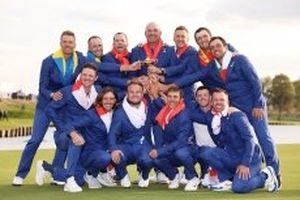 Ryder Cup 2018: Tuyển châu Âu thắng áp đảo tuyển Mỹ để lên ngôi vô địch