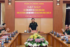 Thường vụ Quân ủy Trung ương gặp mặt các đồng chí Ủy viên Trung ương Đảng công tác trong quân đội