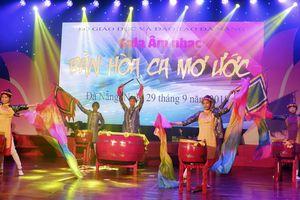 Gala âm nhạc dành cho học sinh khuyết tật