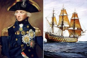 Giải mã thanh kiếm huyền thoại của đô đốc nổi tiếng nước Anh