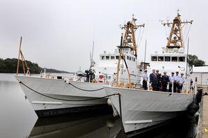 Ukraine 'chết lặng' trước tàu tuần tra Mỹ vừa mới chuyển giao