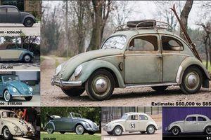 Điểm mặt xe Volkswagen Beetle cổ đắt nhất hành tinh