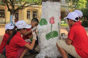 Độc đáo với tài làm 'họa sĩ nhí' của học sinh tiểu học