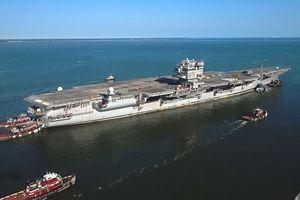 Mỹ tốn 1,5 tỉ USD tháo dỡ tàu sân bay