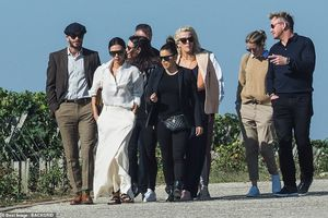 David Beckham thăm vườn nho tại Pháp sau khi lái xe quá tốc độ