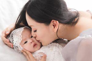 Con gái 4 tháng tuổi đáng yêu của diễn viên Lan Phương