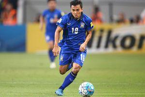 Thái Lan triệu tập cho AFF Cup: 'Messi Thái' vắng mặt