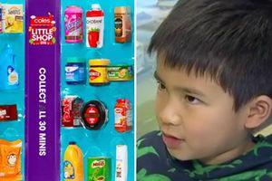 Cậu bé gốc Việt bán đấu giá đồ chơi giúp đỡ bệnh nhi