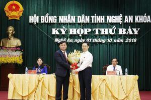 Đồng chí Thái Thanh Quý được bầu giữ chức Chủ tịch UBND tỉnh
