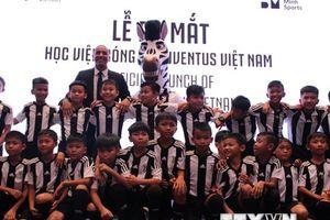 Cựu danh thủ Trezeguet khai trương Học viện Juventus Việt Nam