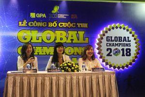 Rèn luyện tương tác kĩ năng tiếng Anh cho trẻ qua cuộc thi Global Champions 2018