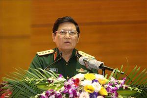 Quân ủy Trung ương gặp mặt các Ủy viên Trung ương Đảng trong Quân đội trước Hội nghị Trung ương 8