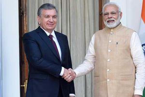 Ấn Độ, Uzbekistan tăng cường quan hệ đối tác chiến lược