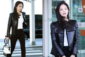 Đẳng cấp như Jennie (Black Pink) ra sân bay: Đơn giản nhưng vẫn đẹp hoàn hảo, sang chảnh như dự sự kiện