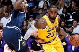 King James ra mắt ấn tượng nhưng Los Angeles Lakers vẫn thua cay đắng Denver Nuggets