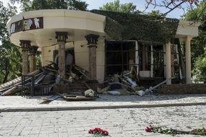 Video ghi lại khoảnh khắc lãnh đạo Donetsk bị ám sát bằng bom