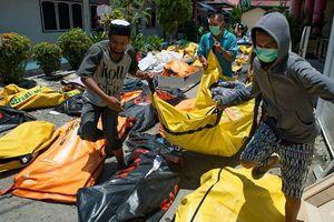 Số nạn nhân tử vong sau thảm họa kép tại Indonesia tăng đột biến
